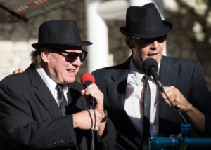 Joe Marino and Gene Scott as The Blues Brothers